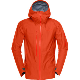 Norrøna Lofotex Gore-Tex Active Jacket Men rooibos tea
